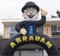 Abraham / Sarah Cartoon Feestboog