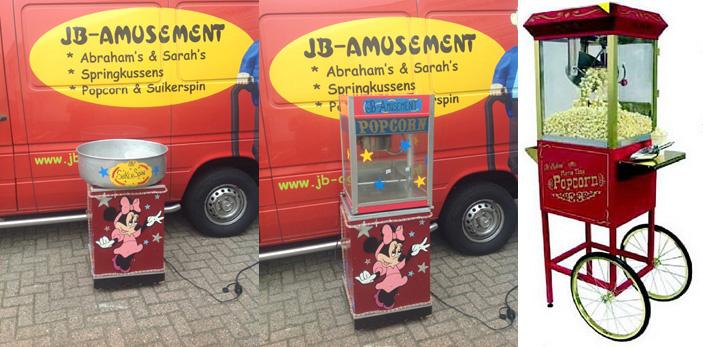 Popcornmachine huren Tilburg