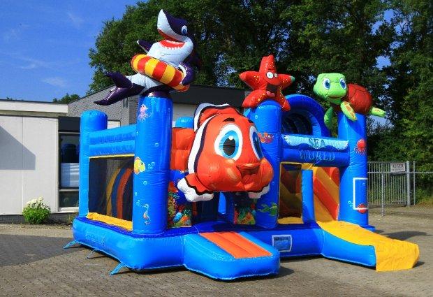 Springkussen Nemo-seaworld multiplay